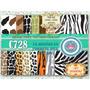 Kit Imprimible Fondos Decoupage Animal Print Cebra Tigre