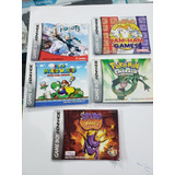 Manuales Originales Juegos Game Boy Advanced Zona Norte