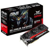 Placa Video Asus Strix Gaming Radeon R9 390x 8gb Oc Dc 3