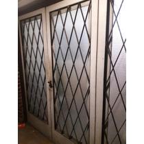 Portón De Cedro De 3 Hojas Ideal Garage