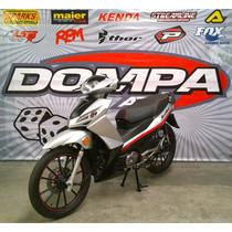 Gilera Smash 125 Rr Nuevo Modelo 0 Km Calle Moto Dompa