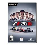 F1 2016 Formula 1 Juego Original Steam Pc