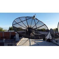 Antena Parabolica Satelital Fta Banda C - Sin Lnbf