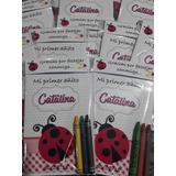 Libritos Personalizados 10x15 Colorear 3 Crayones Souveni