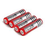 Pila Batería 18650 Recargable 4.2v 6800mah Li-ion Linternas