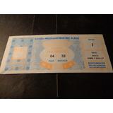 2002- Boca/ Gimnasia-en  M. D. Plata-ubicación De Platea-