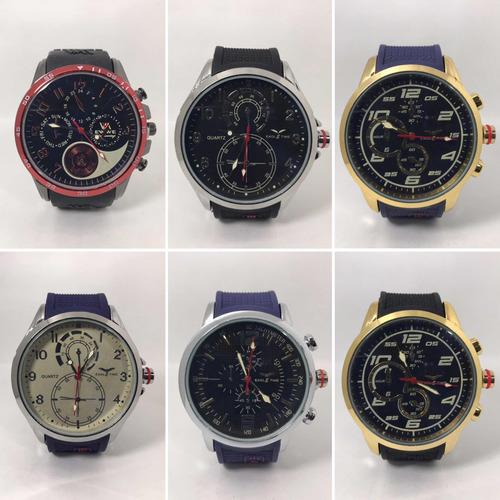 41002643e1e8 Reloj De Hombre C Malla De Goma X 5 Unidades X Mayor Oferta
