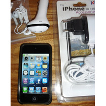 Ipod Touch 32gb Ios 6.1.6 4ta Generacion+cargador+c Datos