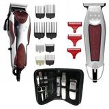Máquina Corte Pelo Mágic Clip + Trimmer Detailer + Kit Aseo