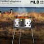 Parrilla Patagonica Disco De Arado Plancha Bif Camping 40 Cm