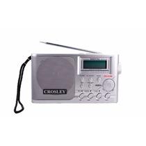 Radio Dual Digital Crosley 3106 Usb/sd/ Batería Recargable