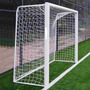 2 Redes Arco Futbol 5 4x2m Cajon 50cm Soga 2,3mm Cancha Baby