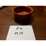Cazuela 14 Cm Barro Esmaltado Para Uso Gastronomico !!!!