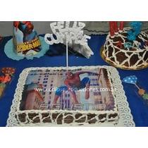 Lamina Comestible Personalizada Spiderman Hombre Araña