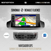 Stereo Gps Garmin Dvd Tv Ipod Usb Renault Megane 3 / Fluence