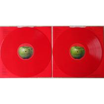 Beatles Album Rojo Con Vinilos Rojos Importado Remasterizado