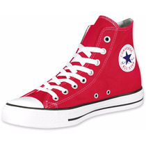 Zapatillas Converse All Star Hi Bota Rojo