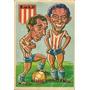 Posters Caricaturas Jugadores De Fútbol Figuritas Años 60