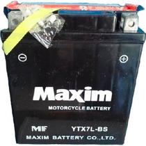 Bateria Maxim Ytx7l-bs Tornado Twister Fazer. Panella Motos