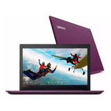 Notebook Lenovo 330 15.6 Hd Intel Core I3 8va + 4gb 1tb Hdmi Windows 10 Color Violeta