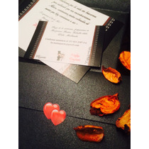 Tarjetas Participaciones Invitaciones | Casamiento | 15 Años