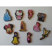 Souvenirs Fibrofacil Apliques Personajes Disney X 10 U.