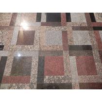 Piso De Granito Tipo Mosaico