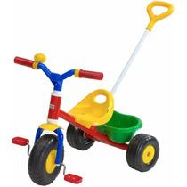 Triciclo De Caño Rondi Metal Little Trike Con Barral 3502