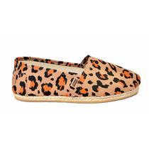 Alpargata Yute Leopardo Naranja - Chimmy Churry