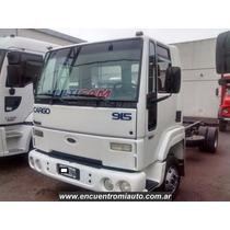 Camion Ford Cargo 915 Entrega 255000 Y 36 Cuotas Multicamju