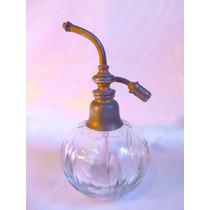 El Arcon Hermoso Perfumero De Cristal Con Rociador 17 Cm 563