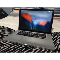 Macbook Pro 15 Quad Core I7 2.0 8g Ssd 250g + 1 T Hd