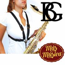Bg S41sh Arnes Mujer Para Saxo Alto/tenor/baritono Gancho Pl