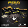 Jgo.pastillas Freno Fremax Trasero Subaru Legacy 1990-1994