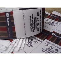 100 Etiquetas Estampadas Coser Ropa Marca Personalizadas