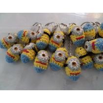 25 Souvenir Llaveros Minions Crochet Tejidos.mataderos Oca