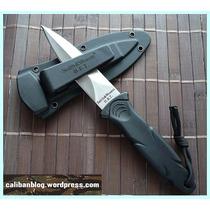 Cuchillo Táctico Smith & Wesson (daga Bota)