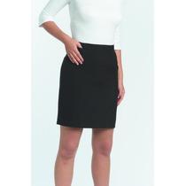 Faldas Rectas Cortas Sarga Varios Talles (ideal Uniformes)