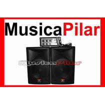 Combo Proco Sb615 Cabezal Bafles Microfono Musicapilar
