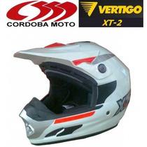 Casco Cross Enduro Modelo Xt2 Vertigo