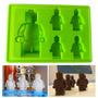 Molde Silicona Lego Rasti Fondant Reposteria