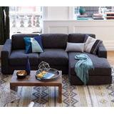 Sillon Esquinero Living 2.20 X1.50 Chenille Sofa 12 Cuotas