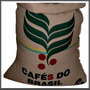 Bolsas De Arpillera Cafe Do Brasil... Yute Y Nylon. Oferta!!