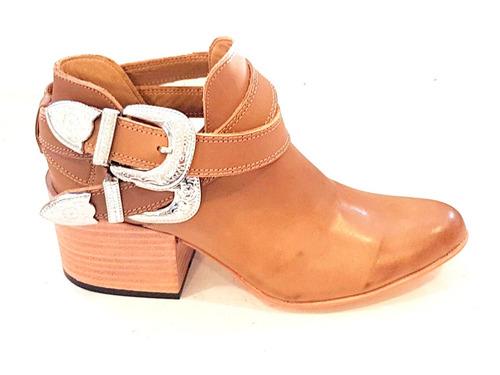23348d7d Botinetas Texanas Pulseras Zapatos Cerrados Verano Botitas T