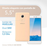Celular Libre Noblex Go Move 5,5hd 4g Dualsim 32gb Champagne