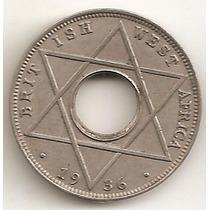 Africa Occidental Britanica, 1/10 Penny, 1936. Casi Unc