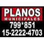 Planos Municipales, Cuotas. Procrear .gasista Matriculado