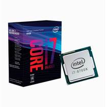 Micro Procesador Intel Coffee Lake Core I7 8700k S1151