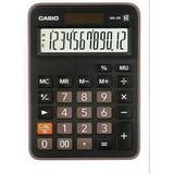 Calculadora Escritorio Casio Mx-12b Negra 12 Digitos
