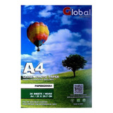 Papel Fotográfico Glossy Premium 200gr A4 X 100 Hojas Global